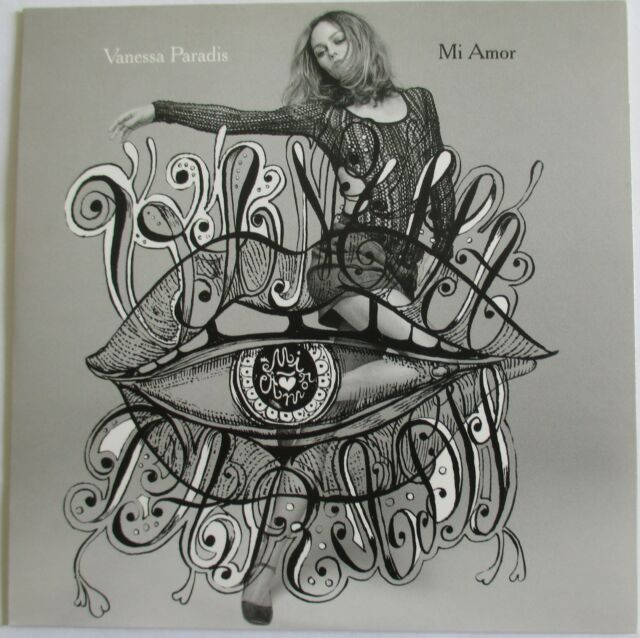 "VANESSA PARADIS - CD SINGLE PROMO ""MI AMOR"""