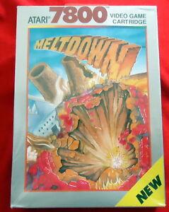 Meltdown-Atari-VCS-7800-game-1990-NEU-sealed