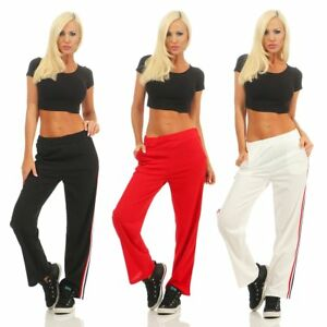 10178 Damen Jogging Hose Leggings Joggpants Sporthose Fitnesshose Trainingshose