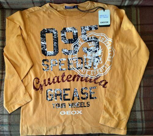 GEOX Boys Long Sleeve Top Shirt Pullover Boys size 10