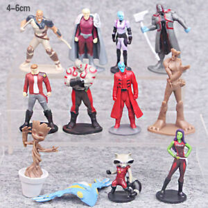 Guardians Of The Galaxy 12 PCS Movie Action Figure Kids ...