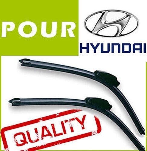 2 BALAIS D/'ESSUIE GLACE AERO POUR Hyundai Genesis 2010+