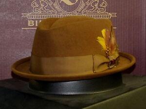BILTMORE L.A. FUR FELT STINGY BRIM FEDORA HAT