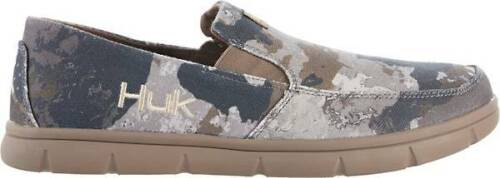NWT Huk Men/'s Brewster Subphantis Desert Camo Loafer Casual Shoes Size 12 or 13