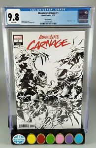 Absolute-Carnage-1-CGC-9-8-Sketch-B-amp-W-Deodato-One-Per-Store