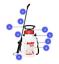 SOLO-456-5-Litre-Pressure-Sprayer-Hand-Held-45-psi-50cm-Spray-Lance-Dual-Nozzles thumbnail 2