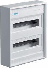 Hager VA24CN Aufputz-Verteiler ohne Tür 2reihig IP30 24 Platzeinheiten