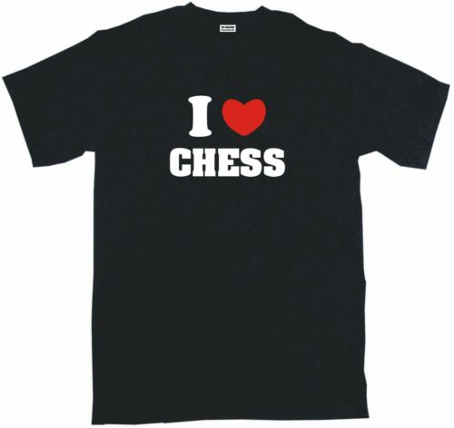 I Heart Love Chess homme tee shirt Pick Taille S 6XL