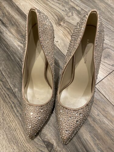 Karen Millen Rhinestone Women Shoes 10US