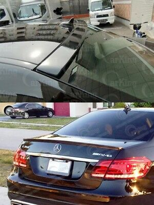10-14 Benz E-Clas W212 4Dr Unpainted ABS OE Roof Spoiler