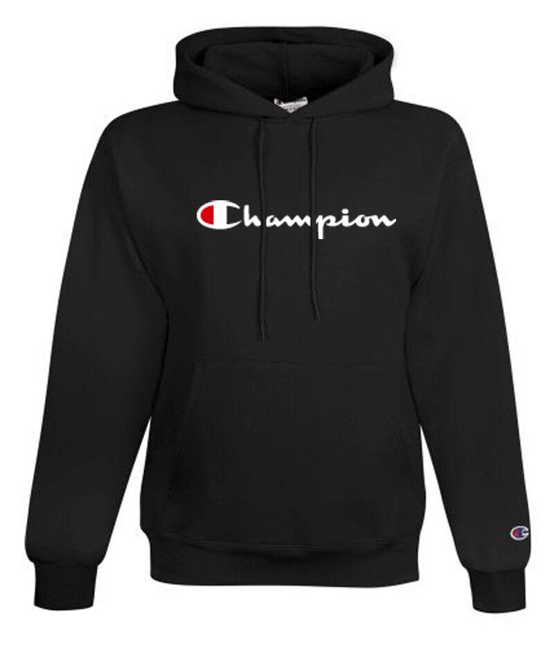 Champion  Herren Classic Script Logo ECO Hoodie---Brand New---S-3XL