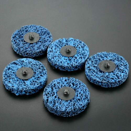 5pcs Paint Rust Remover Grinder Wheel Disc Abrasive Polishing Metalworking Tool