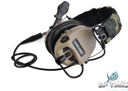 Z Tactical SORDIN Type Headset Navy SEAL Devgru lbt aor1 Z111-DE
