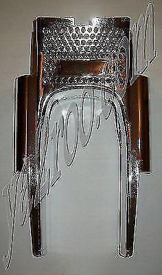 grille capotage de fourche peugeot 103 MVL chromé neuf