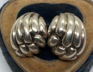 Vintage-Sterling-Silver-Earrings-925-Clip-On