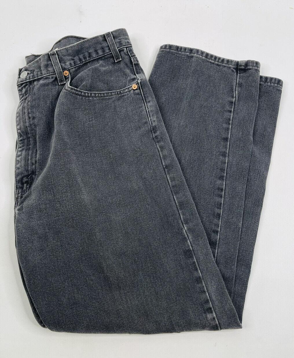 Vintage 90s Levis 505 Regular Fit Straight Leg Fa… - image 1
