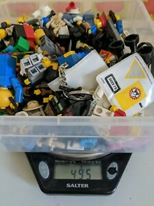 LEGO-Figurine-Bundle-job-lot-495-GMS-mini-figures-Accessoires-Pieces-de-rechange