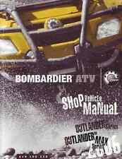 CD Version - 2006 Bombardier (Can-Am) ATV Outlander 400 800 service manual