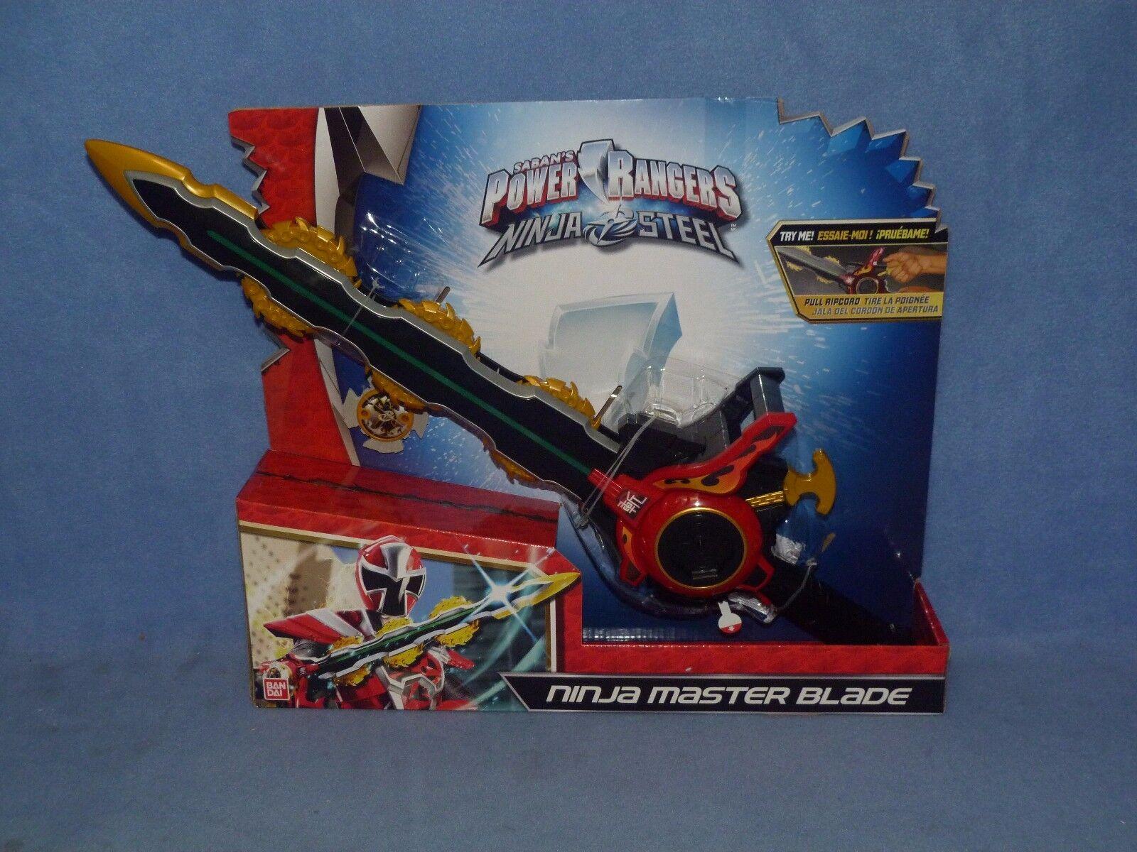POWER Rangers Ninja acciaio-Lama Ninja Master * Nuovo di Zecca *