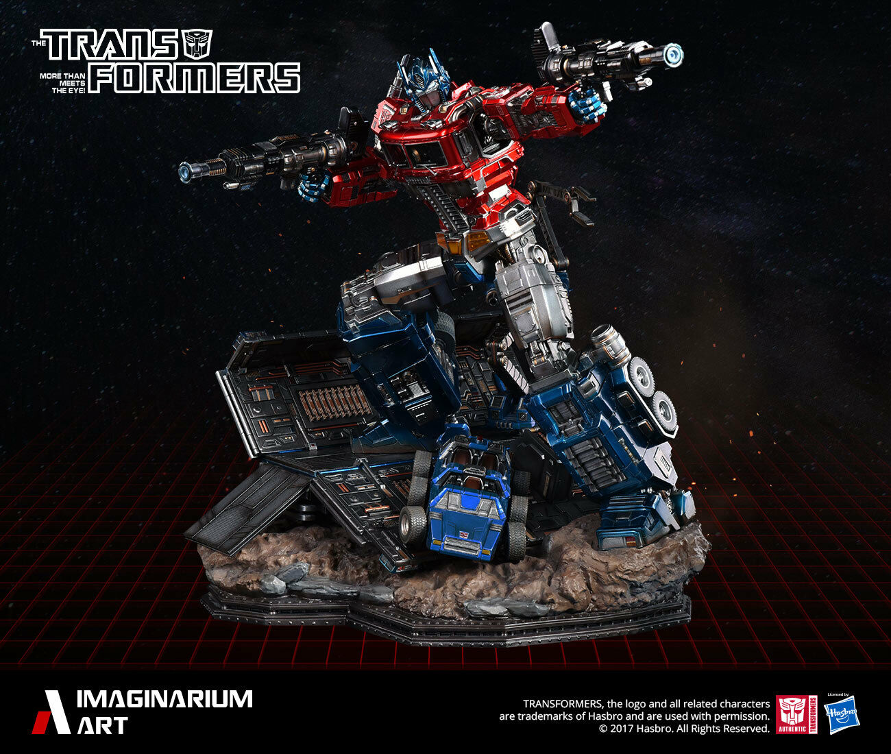 Transformers Generation G1 Optimus Prime Limitierte Auflage Statue