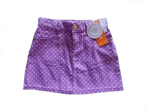 NWT Girl/'s Gymboree Bright Ideas purple polka dot adjustable skirt ~ 4 5 6 7