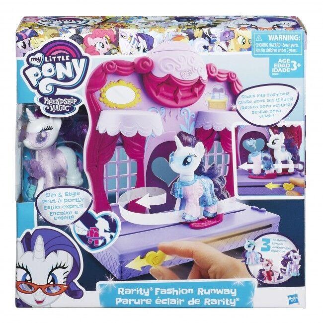 My Little Pony Friendship Is Magic Rarity Fashion Runway Playset BRAND NEW