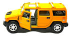 "Kinsmart 2008 Hummer H2 SUV 1:40 scale 5"" diecast model car Brand New yellow"