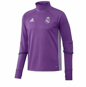 611fe2c8310 adidas Real Madrid FC 2016 - 2017 Long Sleeve Training Soccer Top ...