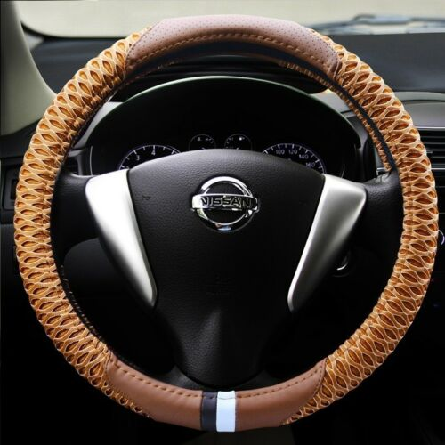 Car Steering Wheel Cover for Women Custom Non-slip Red Purple Black Steering Whe