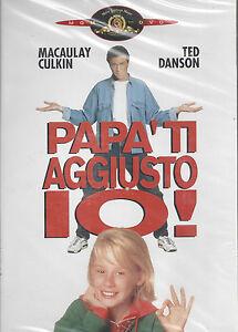 Dvd-PAPA-039-TI-AGGIUSTO-IO-con-Macaulay-Culkin-nuovo-sigillato-1994