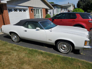 1973 Ford Cougar Convertible for sale