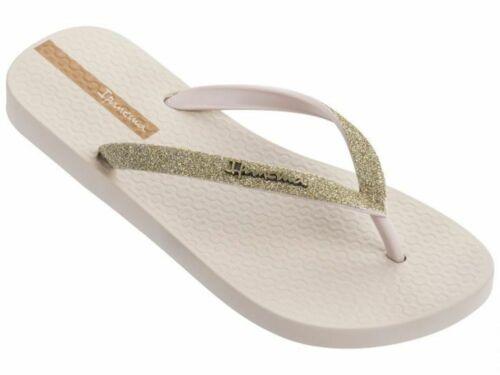 Ipanema Ladies Lolita Glitter Flip Flops Ivory