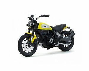 MAISTO-1-18-Ducati-Scrambler-MOTORCYCLE-BIKE-DIECAST-MODEL-NEW-IN-BOX
