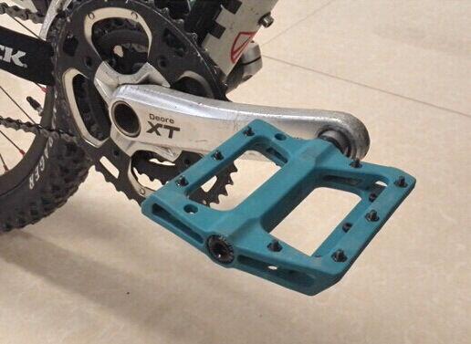 SCUDGOOD polyamide Road MTB XC Bike Pedals Platform Bicycle Cycling Pedal Black