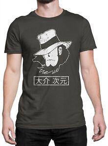 T Maglietta Jigen 100Cotone Shirt Daisuke GrafiteEbay Unisex Yv6g7ybf