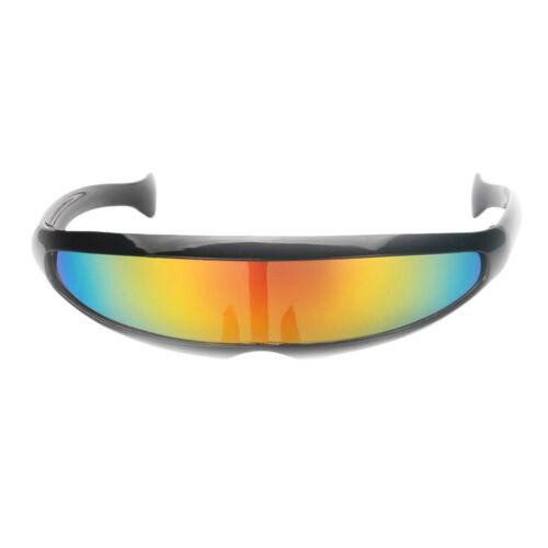set Neuheit Futuristischen Zyklopen Gespiegelte Sonnenbrille Party 2