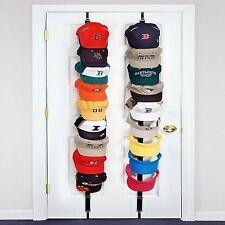 Exceptional CapRack 18 Baseball Cap Hat Holder Rack Storage Organizer Closet Door Hanger