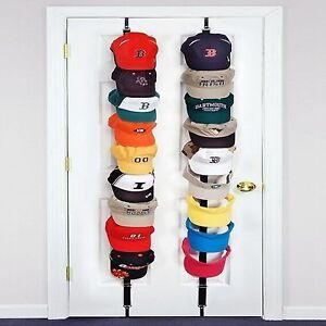 Image Is Loading CapRack 18 Baseball Cap Hat Holder Rack Storage
