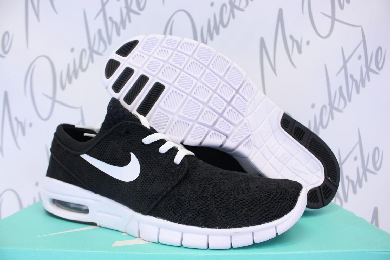 Nike sb stefan janoski max sz bianco nero 631303 010