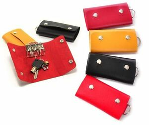New-Cool-Wallet-Holder-Key-Chain-Accessory-Key-Case-PU-Leather-Pouch-Bag