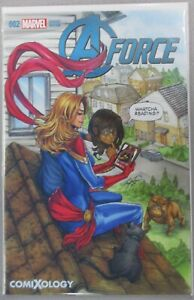 A-Force-2-NM-VF-Comixology-SDCC-Exclusive-Variant-Cover-Stan-Lee-Marvel-Comics