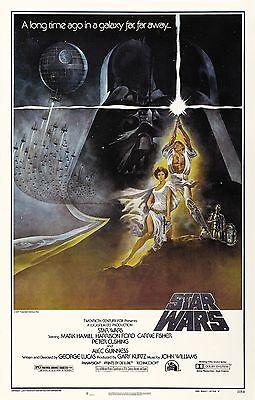 STAR WARS Movie Poster Empire Strikes Back Return of the Jedi