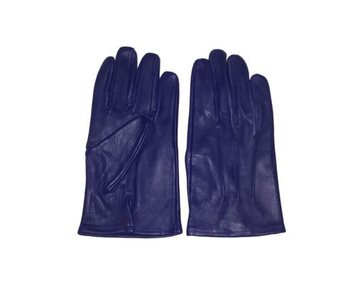 New Genuine sheep Leather Driving gloves with snaps