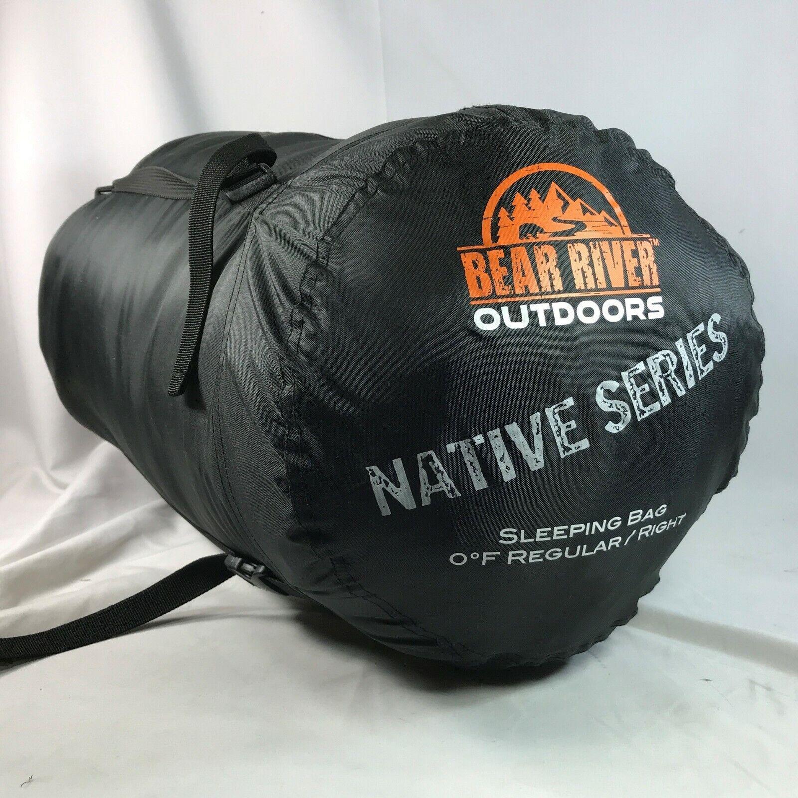 Bear River Outdoors Native Series Sleeping Bag Camping 0 Degree