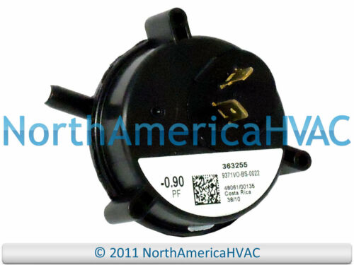 York Coleman Air Pressure Switch 1PS3306 363255-0.90