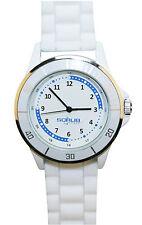 Nurse-Medical White Silicone Quadrant Watch