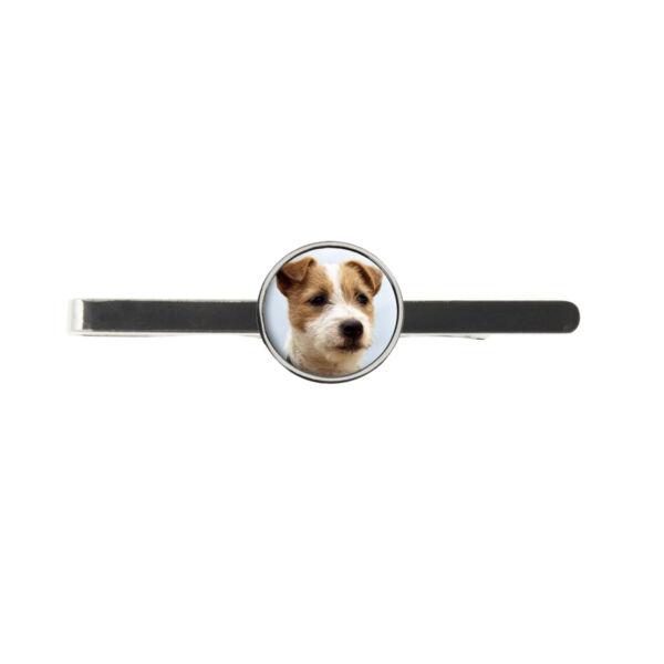 100% De Calidad Jack Russell Terrier Perro Corbata Para Hombre Ideal Regalo Cumpleaños Día Padre De Diapositivas C31-ver