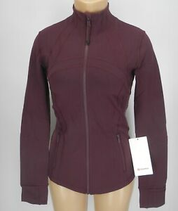 NEW-LULULEMON-Define-Jacket-Brushed-4-6-8-10-12-Dark-Adobe-FREE-SHIP