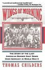 Wings of Morning: The Story of the Last American Bomber Shot Down Over Germany in World War II by Thomas Childers (Paperback, 1996)