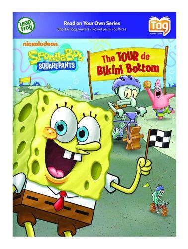 LeapFrog Tag Book SpongeBob SquarePants The Tour de Bikini Bottom